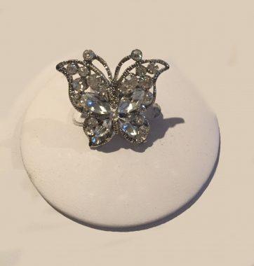 J0235 Butterfly Ring